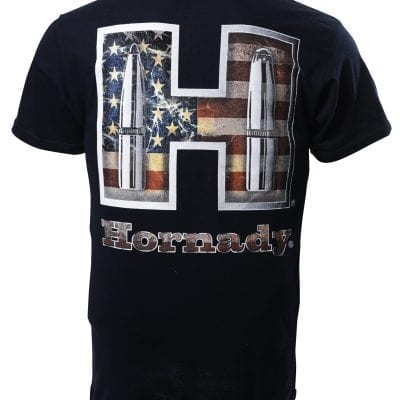 Hornady H Flag Navy (Back)