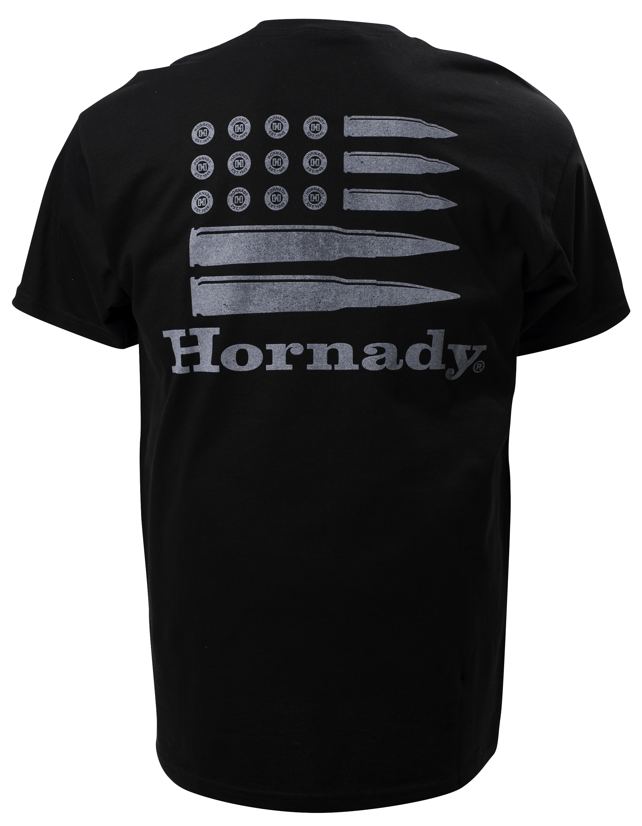 Hornady Bullet Flag Black (Back)