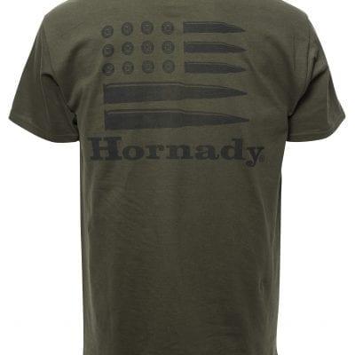 Hornady Bullet Flag Olive Drab (Back)Drab