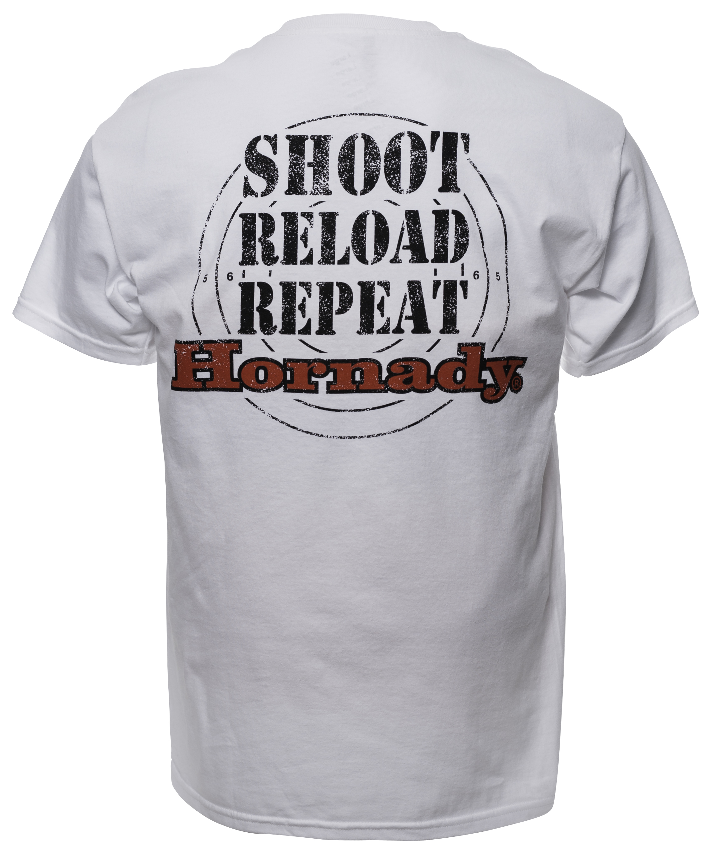 Hornady Shoot Reload Repeat White (Back)