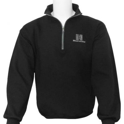 Black Jacket Quarter Zip